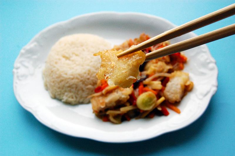 Filety rybne po chińsku