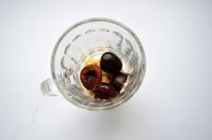 Tiramisu czereśniowe w szklance