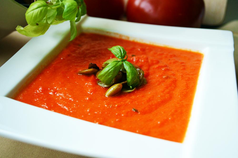 Zupa- krem z pomidorów i marchewek