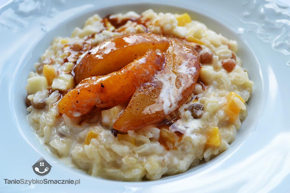Ryż kokosowy z karmelizowanymi gruszkami_04a