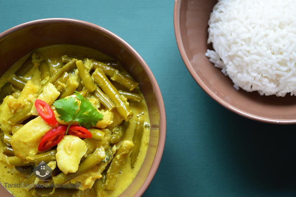 Żółte curry z rybą i fasolką_03a