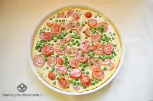 Tarta z groszkiem i pomidorami_05a