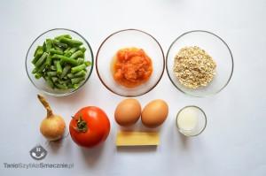 Omlet z fasolką szparagową i pomidorami_01a