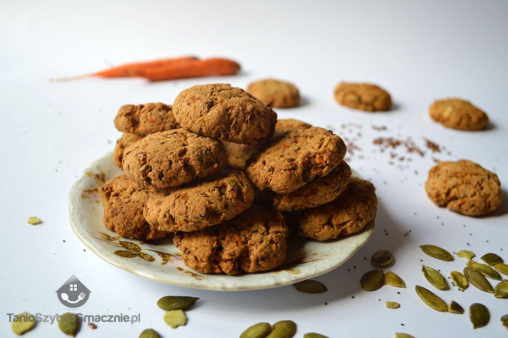 Ciasteczka marchewkowe z mąki orkiszowej_04a