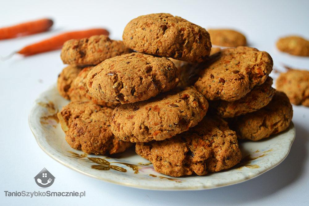 Ciasteczka marchewkowe z mąki orkiszowej_05a