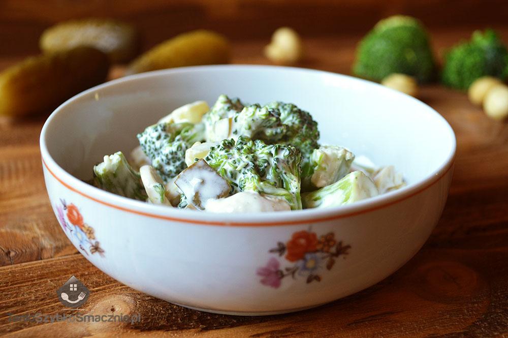 Sałatka z brokuła i pieczarek_04a