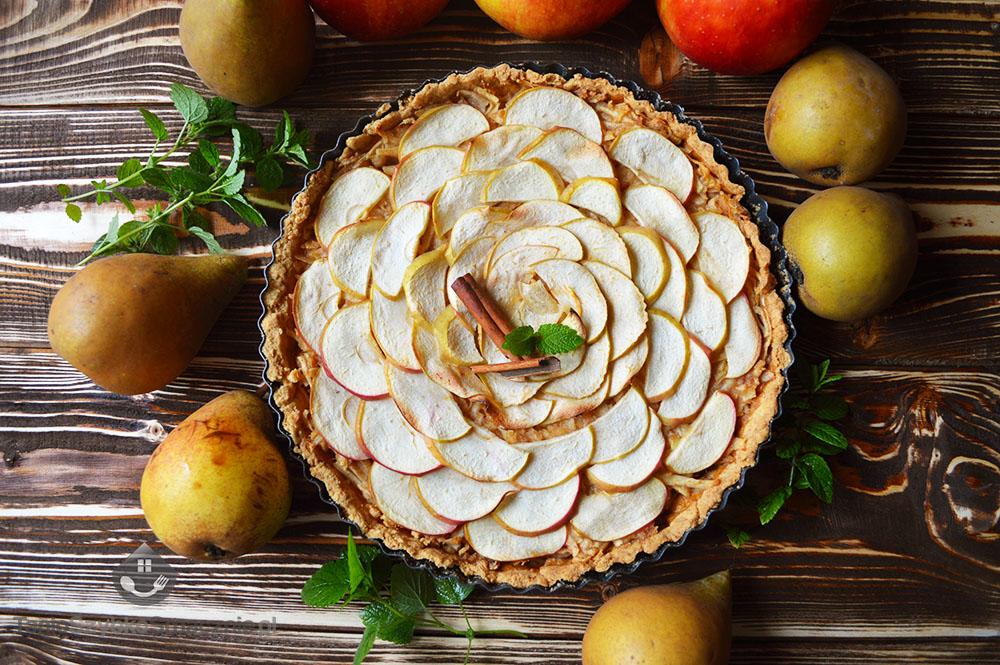 Tarta jabłkow-gruszkowa z orzechami_07a