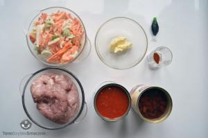 Zapiekanka z mięsem mielonym pod puree ziemniaczano-kalafiorowym_01a