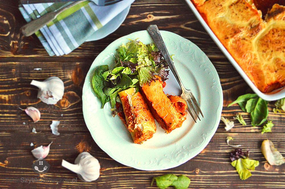 Canelloni ze szpinakiem i ricottą w sosie pomidorowym_01a