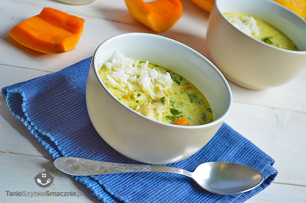 Zielone curry z dorszem, dynią i szpinakiem_03a