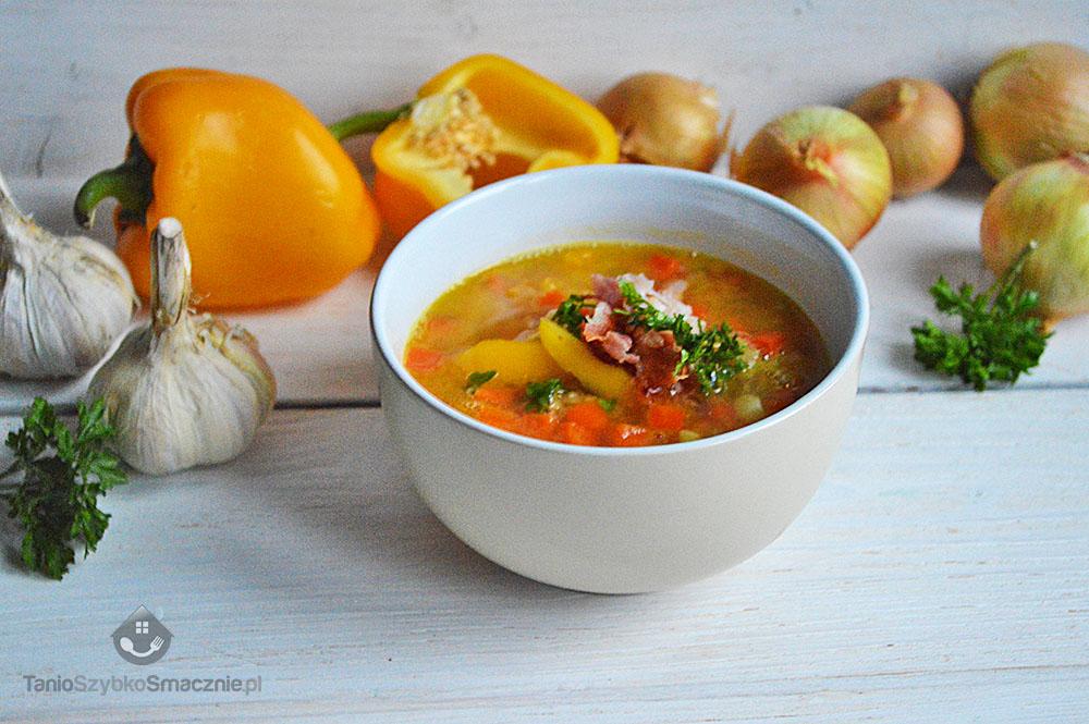 Szybka, sycąca zupa
